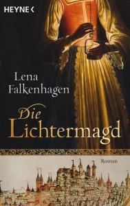 """Cover von """"Die Lichtermagd""""."""